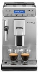 Zilveren DeLonghi De'Longhi ETAM29.620.SB Autentica Plus Bean to Cup Coffee Machine - Silver