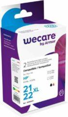 Wecare WEC1108 inktcartridge Zwart, Cyaan, Magenta, Geel Multipack 2 stuk(s)