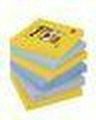 Post-it Super Sticky Notes 76 x 76 mm New York Kleuren 6 Blokken van 90 Vellen