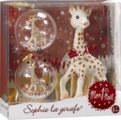 Beige Sophie de Giraf Mijn Eerste Kerstmis Set