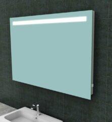 Ced'or spiegel met led verlichting + stopcontact 1200x800