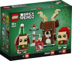 Bruine LEGO BrickHeadz Rendier, Elf en Elfie - 40353