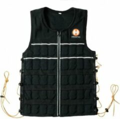 Zwarte Hyperwear Hyper Vest ELITE M - 10 lbs (4,5 kg)
