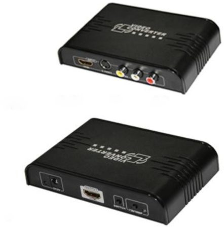 Afbeelding van Allteq - S-video naar HDMI omvormer - Zwart