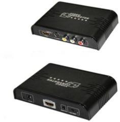 Allteq - S-video naar HDMI omvormer - Zwart