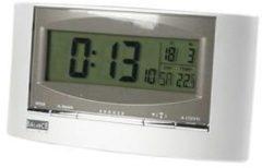 Zilveren Balance Radio-Controlled Solar Alarm Clock Digital Silver