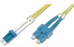 Digitus DK-2932-03 Glasvezel kabel 3 m LC SC Geel