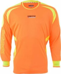 Derbystar Aponi Sportshirt - Maat 116 - Unisex - oranje/geel