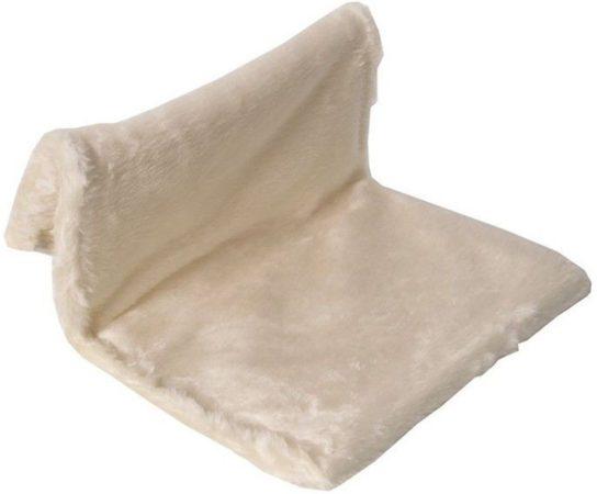 Afbeelding van Creme witte Radiatorhangmat - Dierenhangmat - Crème - 43 x 43 x 24 cm