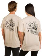 Swallows and Daggers Skull Web T-Shirt