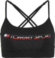 Tommy Hilfiger Tommy Sportbeha - Maat XS - Vrouwen - Zwart/wit/rood/blauw