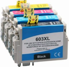 Cyane Goedkoopprinten Epson 603XL inkt cartridges Multipack - Huismerk