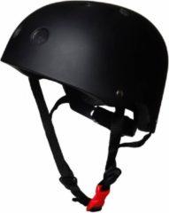 Kiddimoto helm Zwart Mat Small