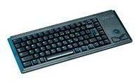 CHERRY Compact-Keyboard G84-4400 - Tastatur - Englisch - US - Schwarz