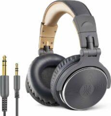 Grijze OneOdio Studio Dj Headphone Pro 10 - Over-ear koptelefoon - hoofdtelefoon - dj set - kop telefoon - professionele koptelefoon - muziek studio - dj set mengpaneel - dj Headphones
