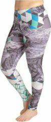 ZUMPREMA Work Out groen Sport Legging