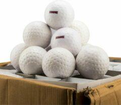 Hockeyballen Broni Dimple - wit - 120 stuks