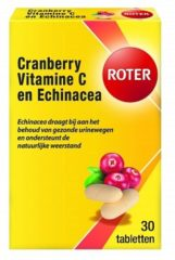 Roter Cranberry - 30 Tabletten - Blaasontsteking - Voedingssupplement