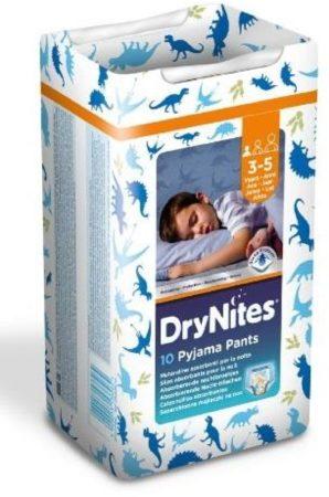 Afbeelding van Blauwe Huggies DryNites Boy - Absorberende Broekjes 3-5 jr