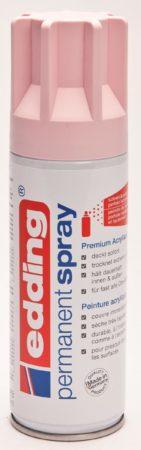 Afbeelding van Bruna Verfspuitbus edding 5200 permanent spray mat pastelroze
