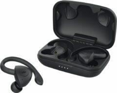 Zwarte JAM TWS Athlete Draadloze Oordopjes - Bluetooth Sport oortjes - 30 uur