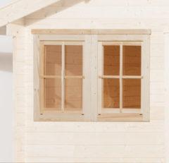 WEKA | Dubbel raam tbv 45 mm wanden