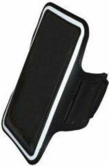 Zwarte I12Cover Comfortabele Smartphone Sport Armband voor uw Bea Fon Sl560