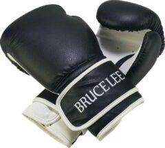 Bruce Lee bokshandschoenen Allround zwart/wit maat 10oz