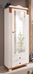 Home affaire Garderobenschrank »Adele« mit Spiegel