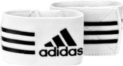 Witte Adidas Ankle Strap - Sokophouders - One size - Wit/Zwart