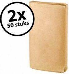 Bruine BioMat composteerbare papieren zakken 2 verpakkingen 50 x 10 liter - 100 zakken
