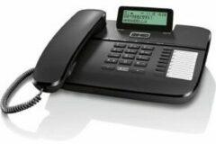 Zwarte Gigaset DA710 analoge huistelefoon