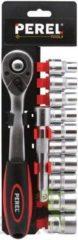 "Perel Velleman 1/2 ratelsleutel met doppenset - 12 st. hsosl4"""