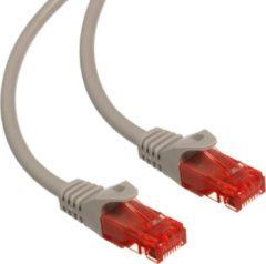 Maclean TV Systems Kabel patchkabel UTP cat6 plug-plug 0,5 m grijs Maclean MCTV-300 S
