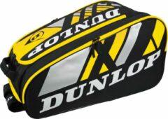 Dunlop pro series thermo yellow - padel tas - geel - zwart