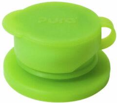 Groene Pura silicone sport dop groen