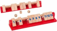 Goki Dobbelspel Shut The Box Tricky Voor 2 Spelers
