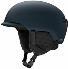 Marineblauwe Smith Scout Skihelm Senior