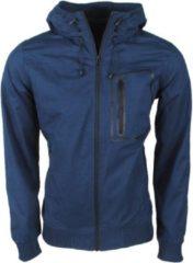 Marineblauwe Cars Jeans - Heren Tussenjas - Cody - Navy