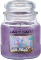 Paarse Yankee Candle - Sweet Nothings Candle ( sladké nicnedělání ) - Vonná svíčka - 411.0g
