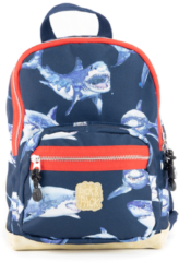 Pick & Pack Shark Backpack S navy Kindertas