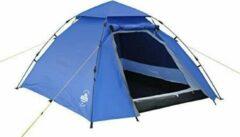 Lumaland - Koepeltent - 3 personen - Quick up system - Outdoor - Blauw