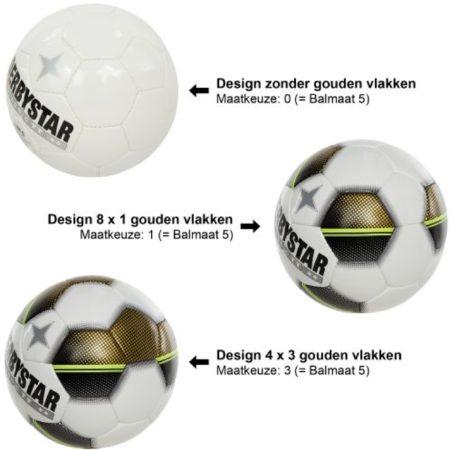 Afbeelding van Derbystar Classic TT 5 - Voetbal - Multi Color - Maat 5 - 0 Vlakken - 286952-0000-0