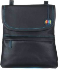 Mywalit Kyoto Medium Backpack/Messenger bag black/pace Leren tas