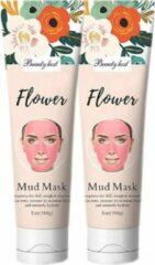 Roze Olaf Private Label gezichtsmasker Hydraterend, voedend, reinigend, herstellend Biologische