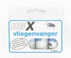 HG X Vliegenvanger - verpakking á 4 stuks - vliegenvanger - HG