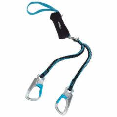 Rock Empire - DynaTwist - Klettersteigset maat 40-120 kg, blauw/zwart