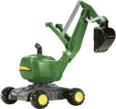 Rolly Toys graafmachine RollyDigger John Deere junior groen