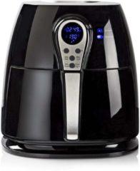 Zwarte Nedis Digitale heteluchtfriteuse | 3 liter | 60-minuten timer | 6 voorkeuzeprogramma's