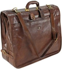 Story Uomo Kleidersack Leder 55 cm The Bridge marrone-braun
